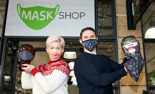 Lakeside Village covers new ground with launch of face mask store